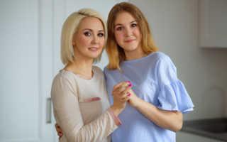 Василиса Володина и ее копия дочь