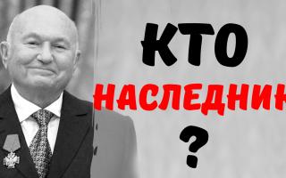 Кто получит «баснословное» наследство бывшего мэра Москвы Юрия Лужкова?