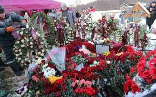 Могила Грачевского утопала в цветах! Охапки роз, сразу после похорон! Просто ужасно