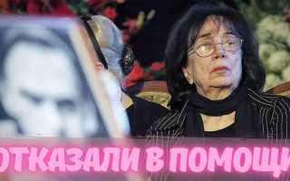 Отказалась помогать вдове Баталова-Гитане Леонтенко! Слежу за историей, но все мутно