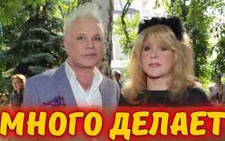 Пугачева много делает для Моисеева! Он сражен недугом и про него забыли