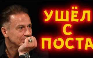 Олег Меньшиков перед скандалом покинул должность директора театра