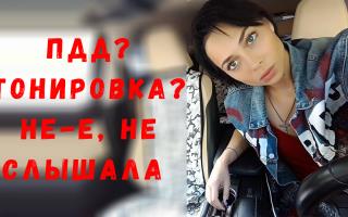 Настасья Самбурская спорит c ГИБДД