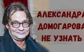 Александр Домогаров на фото сильно располневший