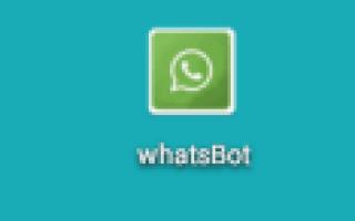 Настройка бота WhatsApp