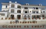 Алла Пугачева и Максим Галкин заканчивают строительство особняка на Кипре