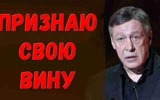 11 лет! Ефремов признал свою вину! Все просто замерли от этих слов! Это конец