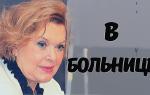 Известная актриса экстренно госпитализирована в Москве! Доктора делают ВСЕ возможное…