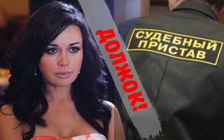 Анастасия Заворотнюк задолжает 1,6 млн. судебным приставам