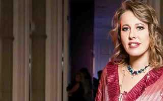 Ксении Собчак предъявили обвинение