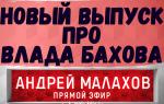 Ожидается новый выпуск программы ПРЯМОЙ ЭФИР про ВЛАДА БАХОВА. Малахов все-таки решился…