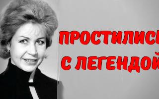 Внука великой актрисы не пустили проститься! 28 марта проводили в последний путь ИННУ МАКАРОВУ…